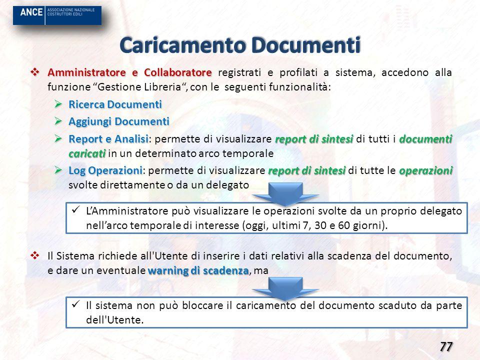 Caricamento Documenti