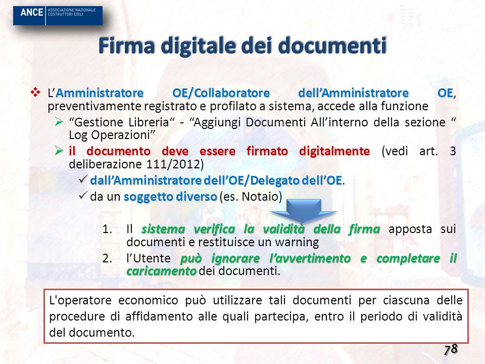 Firma digitale dei documenti
