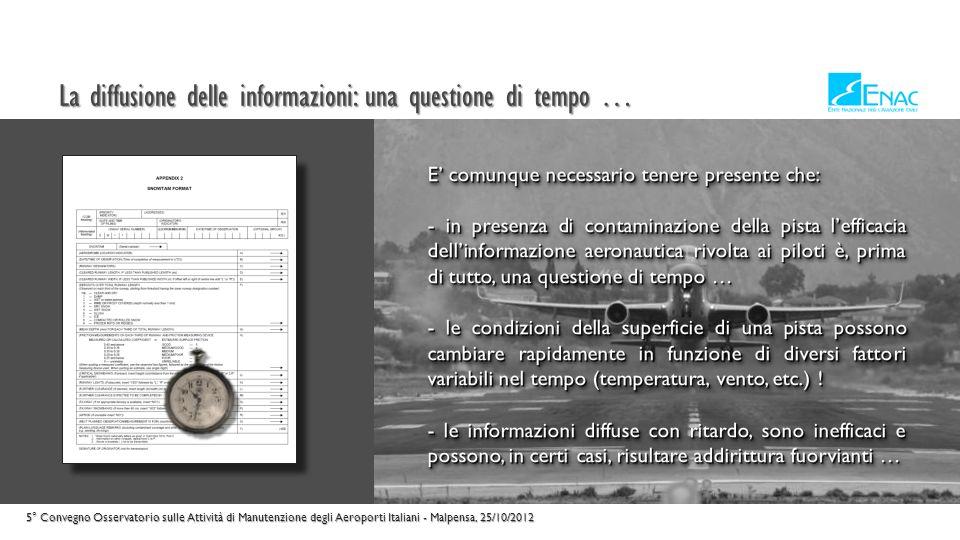 La diffusione delle informazioni: una questione di tempo …