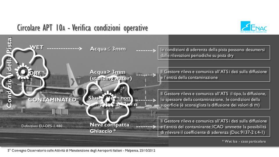 { { Circolare APT 10A - Verifica condizioni operative