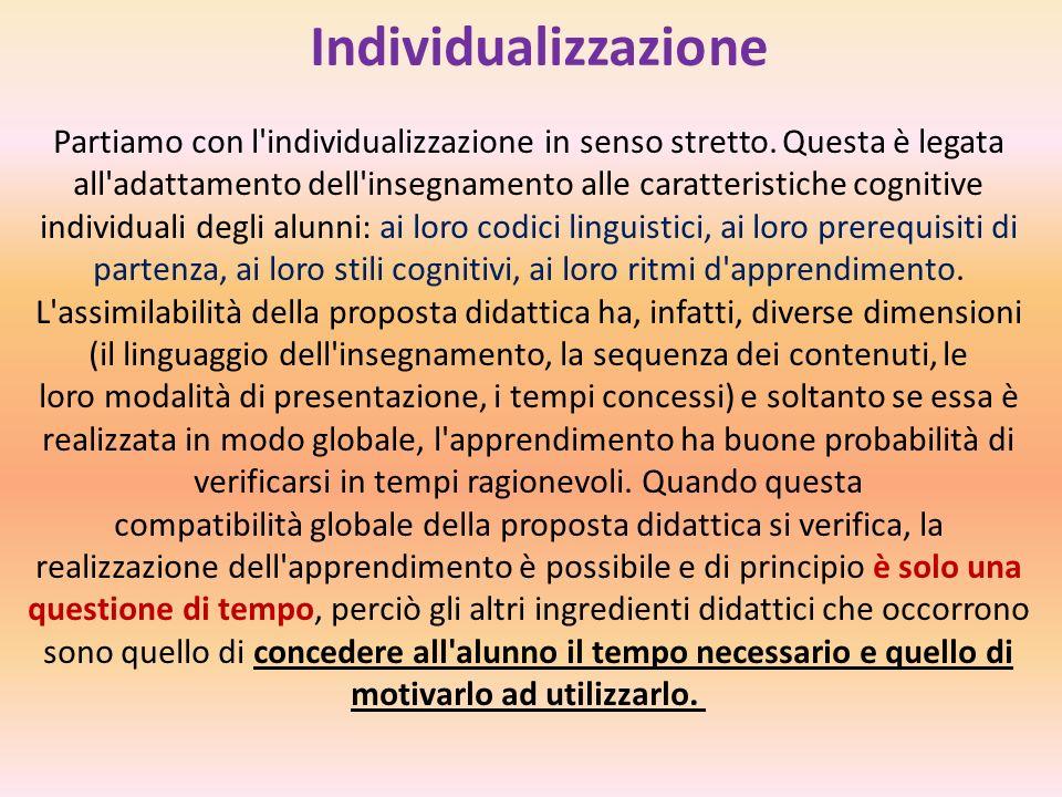 Individualizzazione