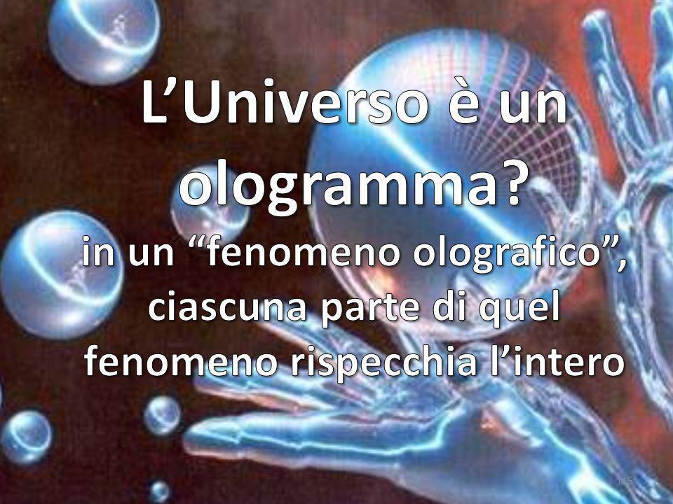L'Universo è un ologramma