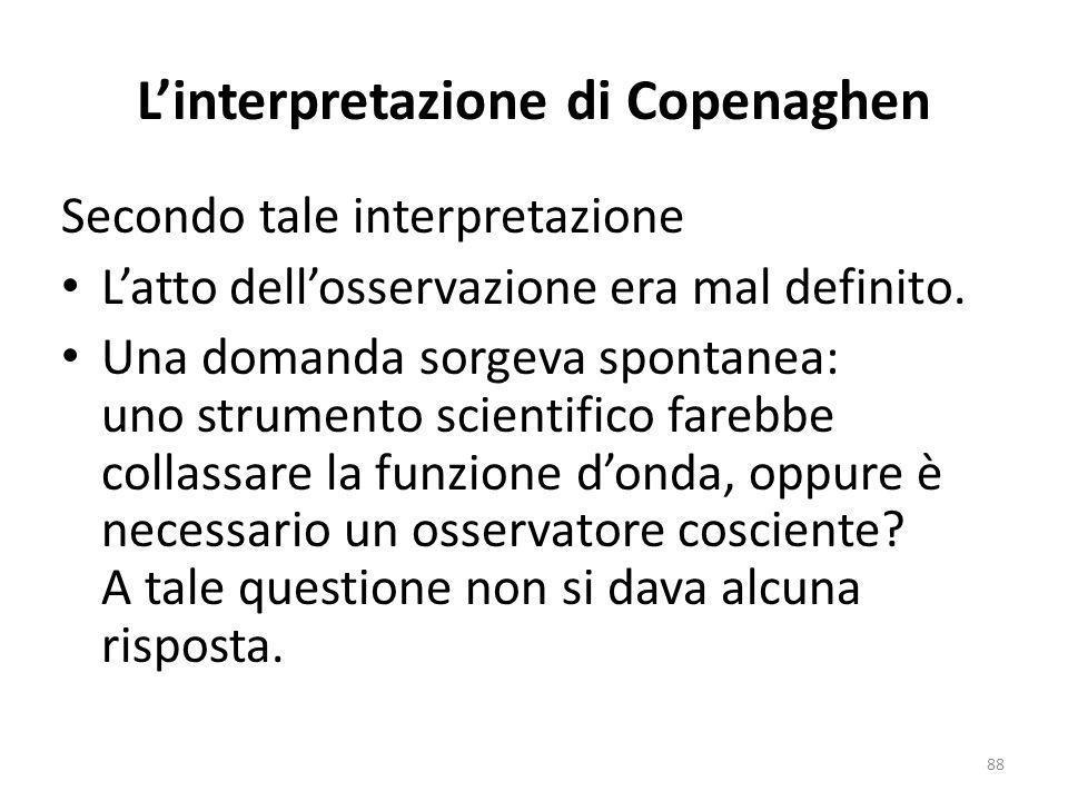 L'interpretazione di Copenaghen
