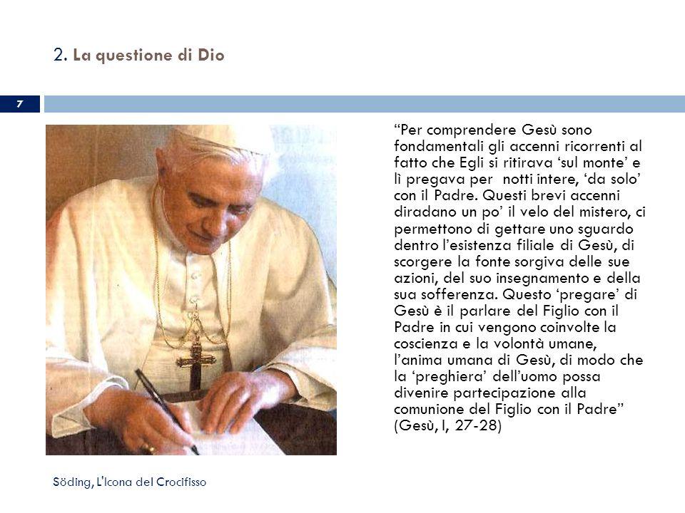 2. La questione di Dio