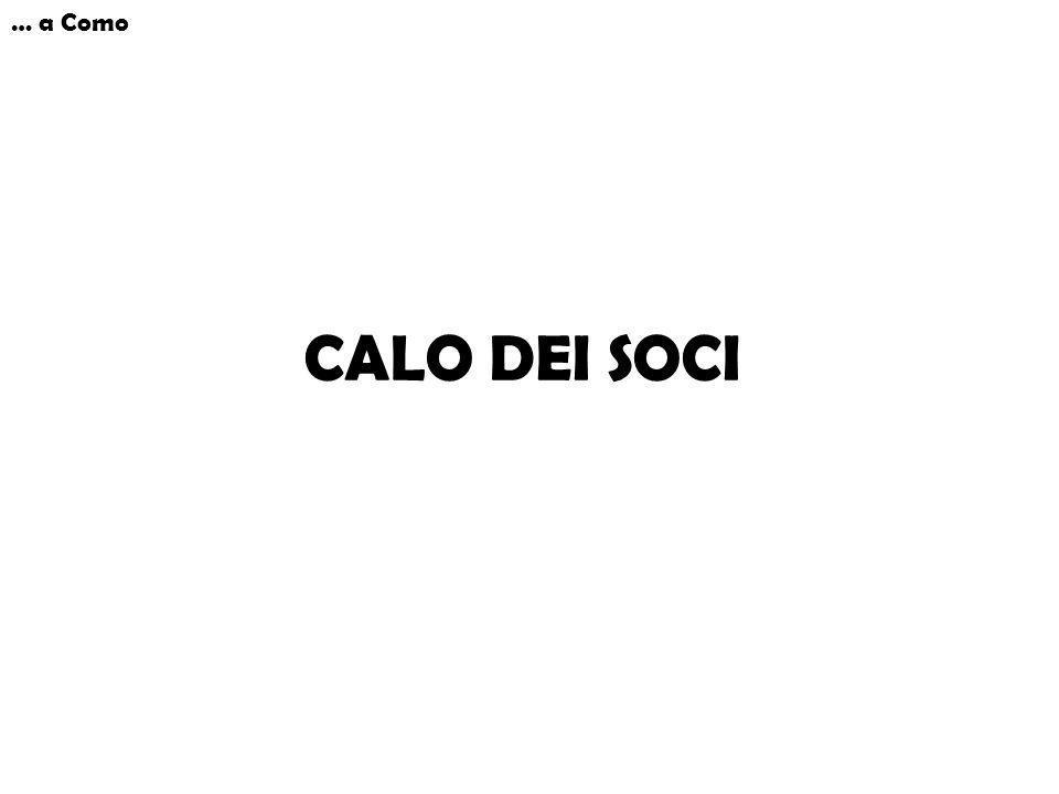 … a Como CALO DEI SOCI