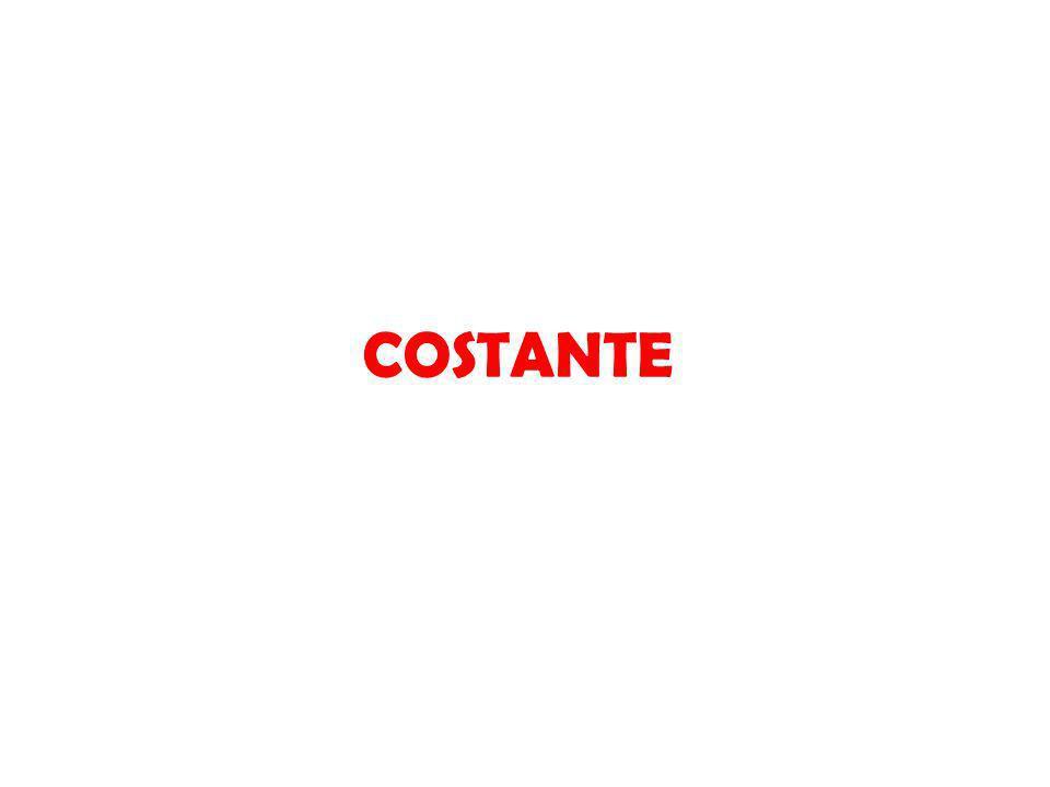 COSTANTE