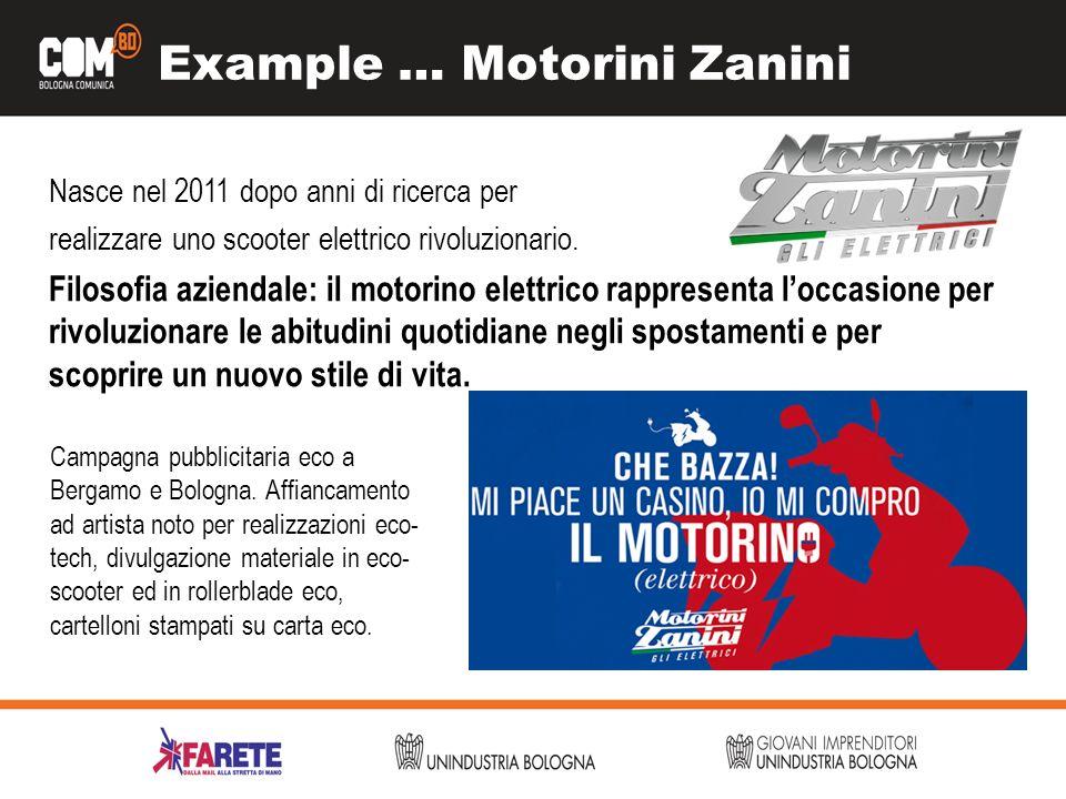Example … Motorini Zanini