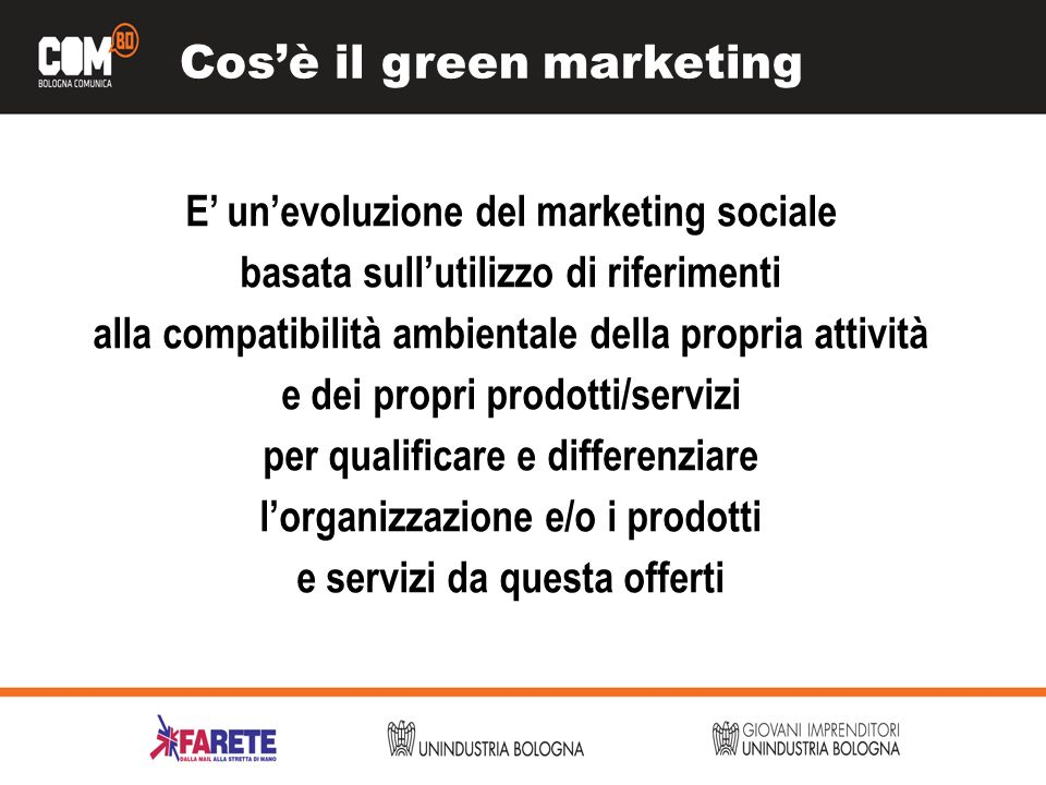 Cos'è il green marketing