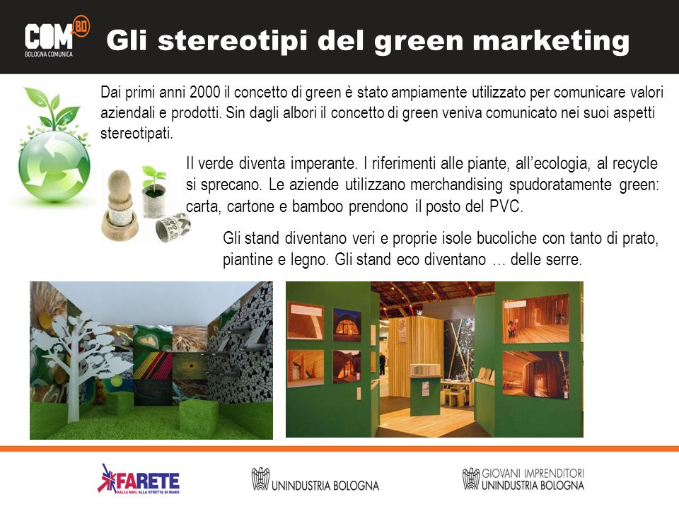 Gli stereotipi del green marketing