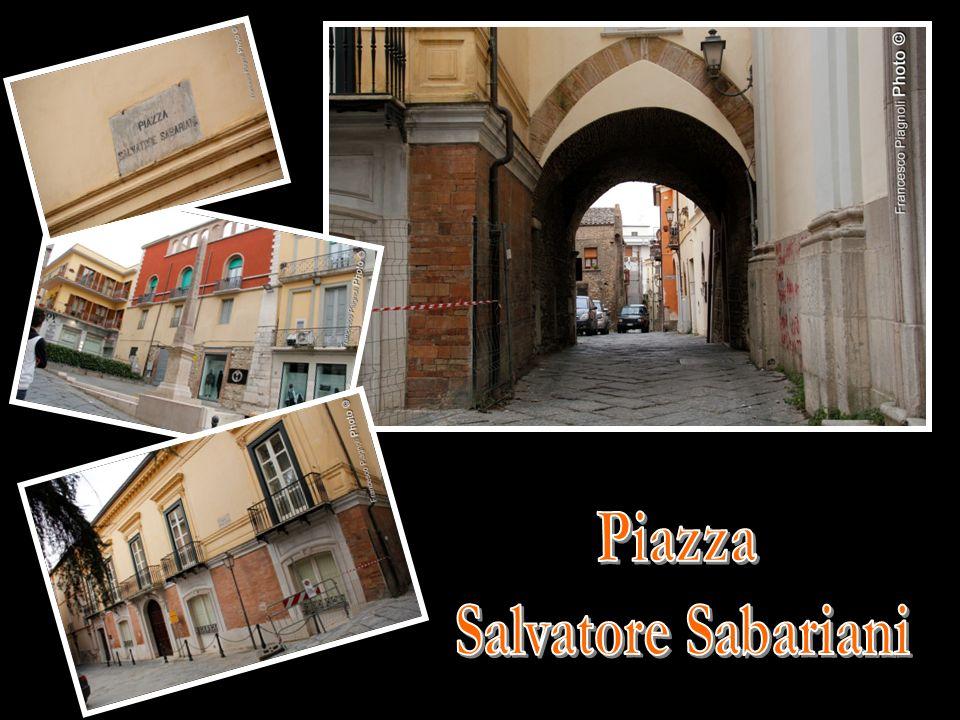 Piazza Salvatore Sabariani
