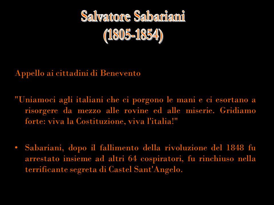 Appello ai cittadini di Benevento
