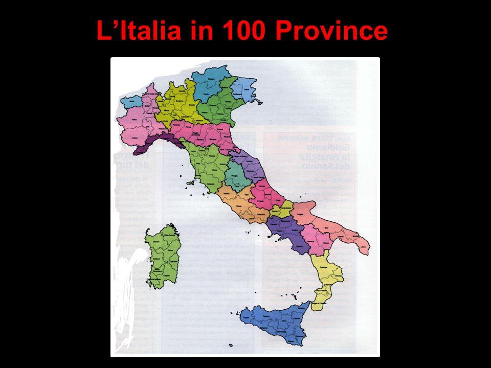 L'Italia in 100 Province