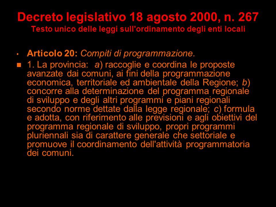 Decreto legislativo 18 agosto 2000, n