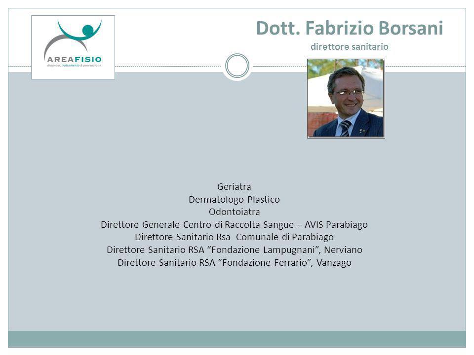 Dott. Fabrizio Borsani direttore sanitario