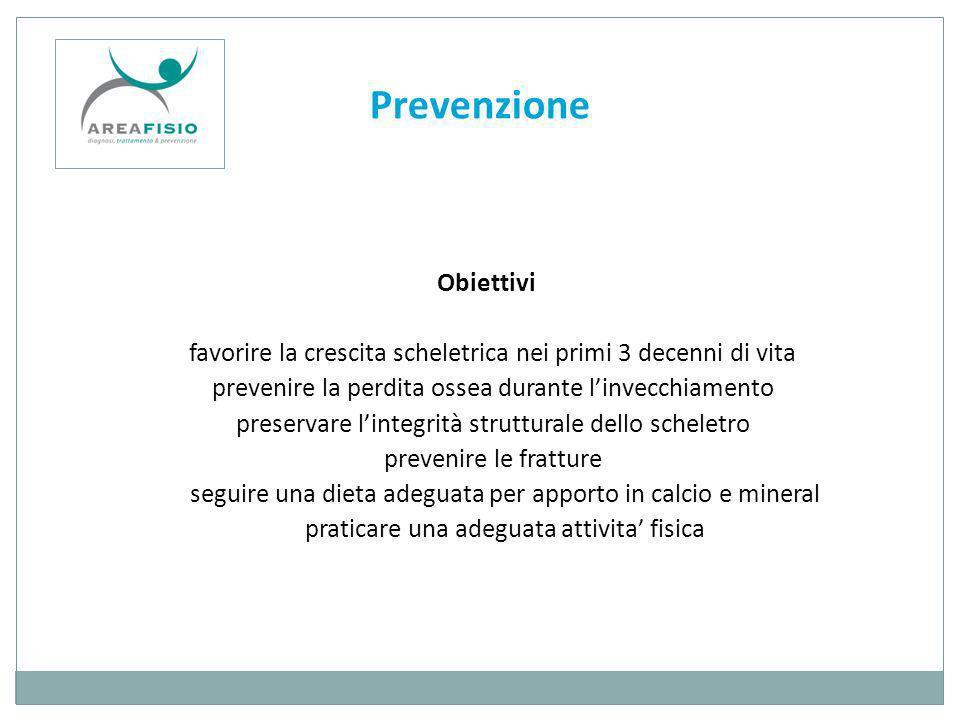 Prevenzione Obiettivi