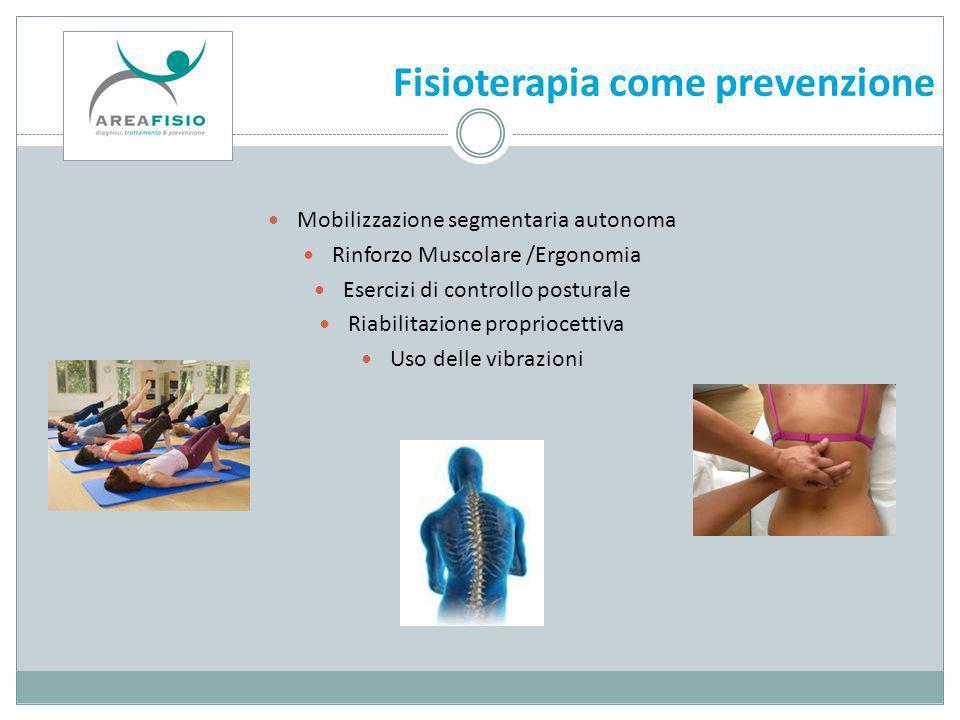 Fisioterapia come prevenzione