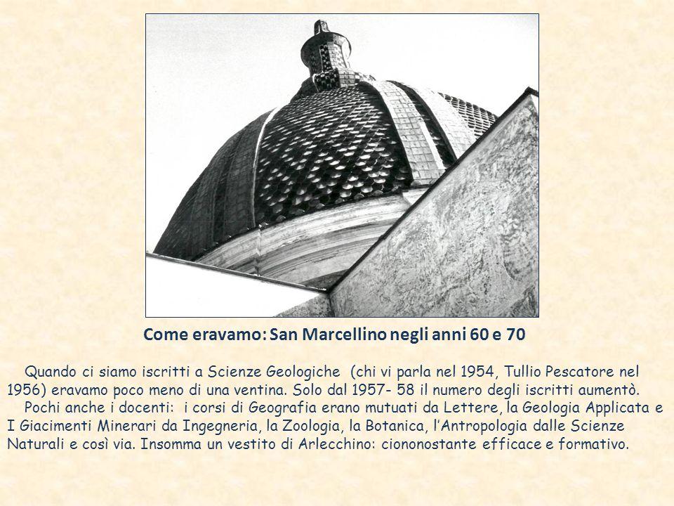 Come eravamo: San Marcellino negli anni 60 e 70
