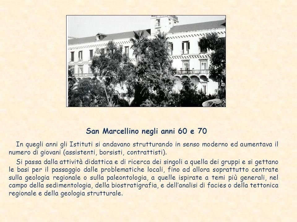 San Marcellino negli anni 60 e 70