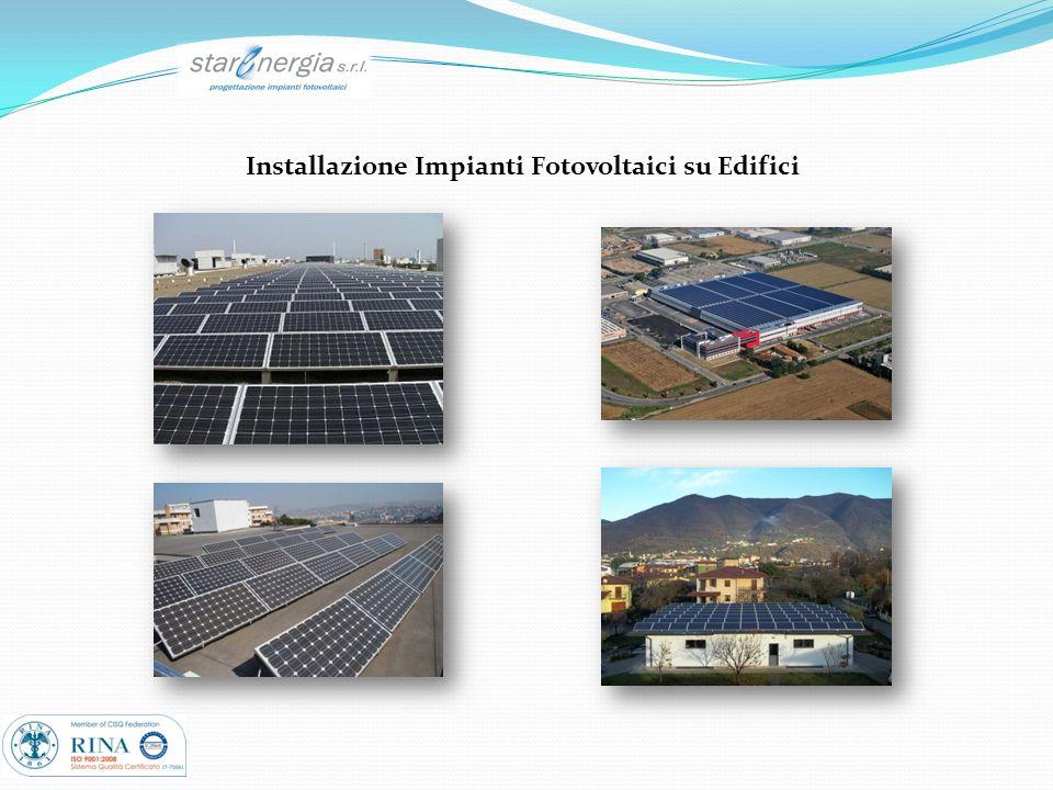 Installazione Impianti Fotovoltaici su Edifici