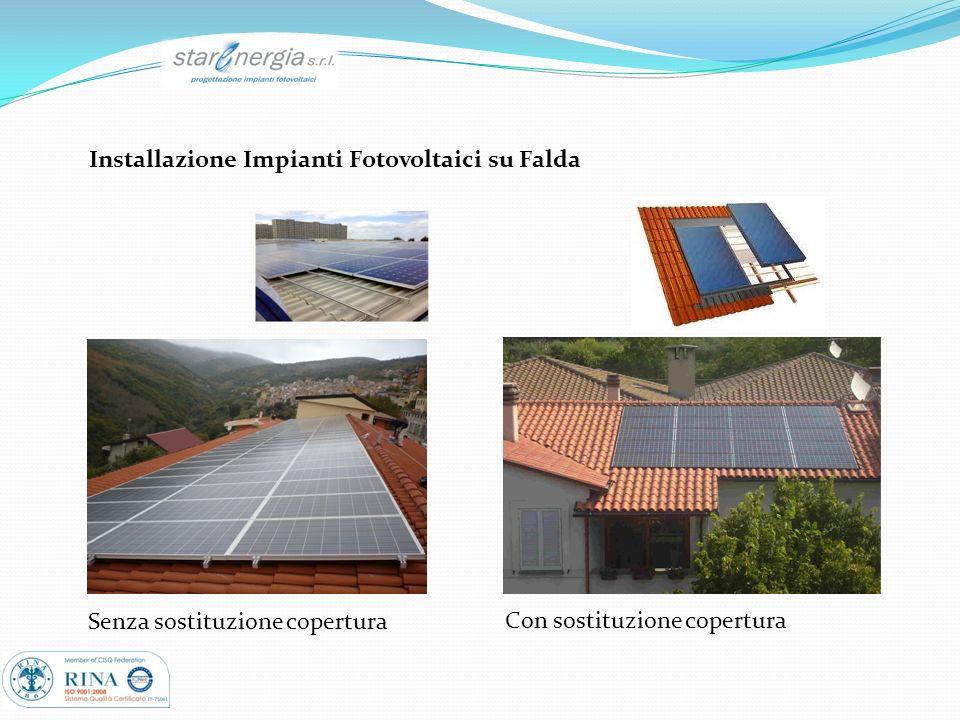 Installazione Impianti Fotovoltaici su Falda