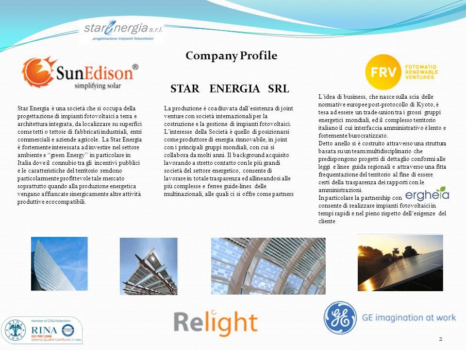 Company Profile STAR ENERGIA SRL