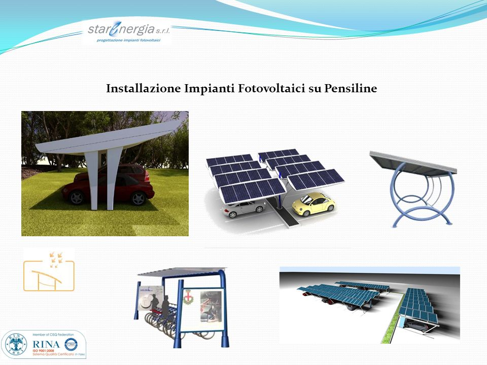 Installazione Impianti Fotovoltaici su Pensiline