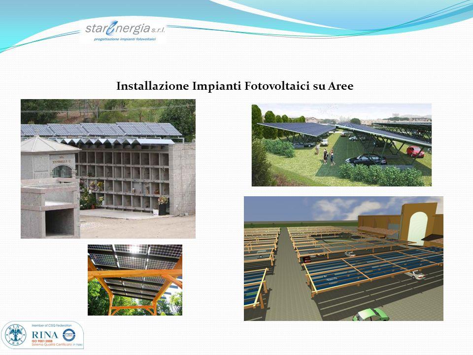 Installazione Impianti Fotovoltaici su Aree