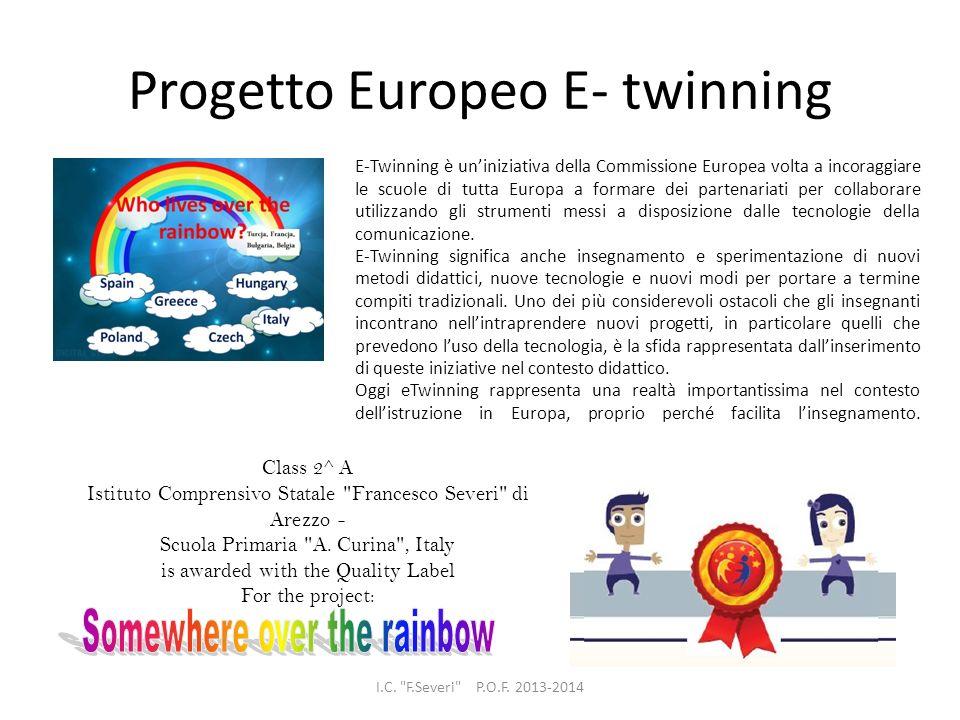 Progetto Europeo E- twinning