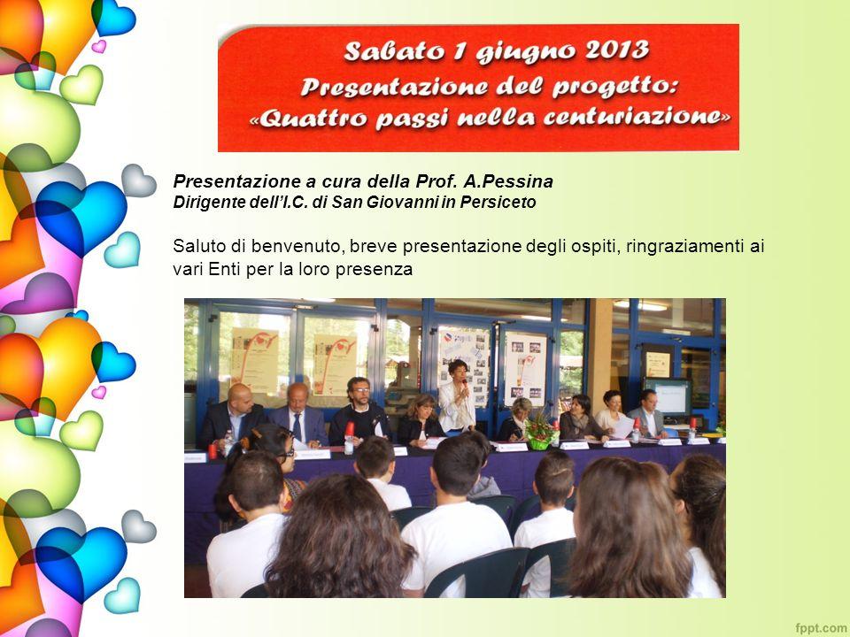 Presentazione a cura della Prof. A.Pessina