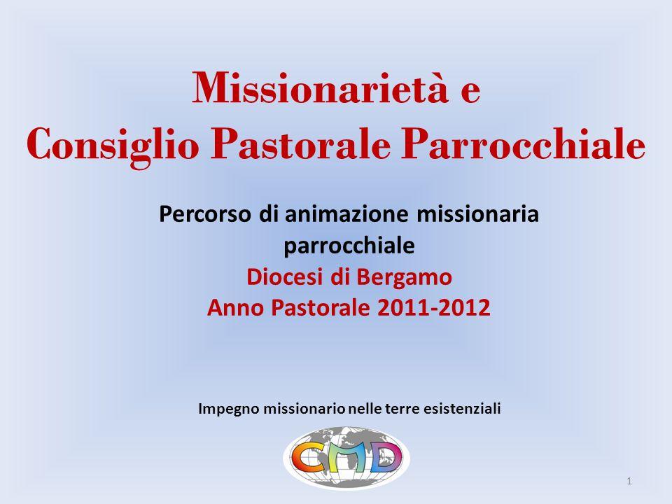 Missionarietà e Consiglio Pastorale Parrocchiale