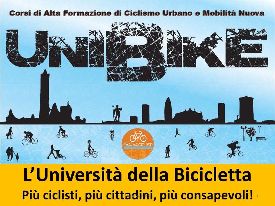 L'Università della Bicicletta Più ciclisti, più cittadini, più consapevoli!