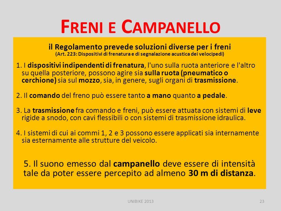 Freni e Campanello