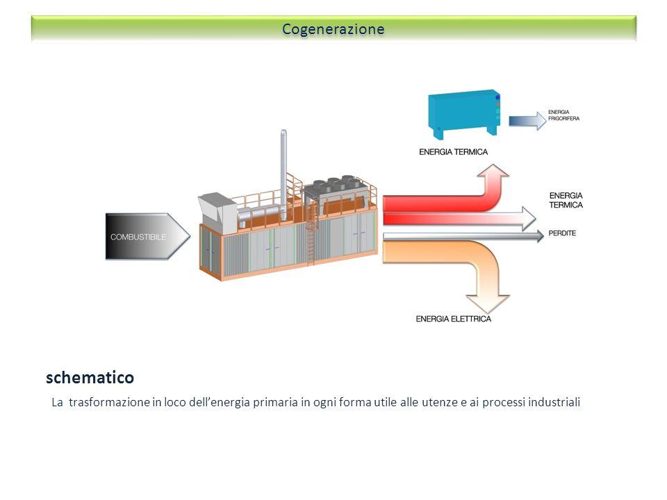schematico Cogenerazione