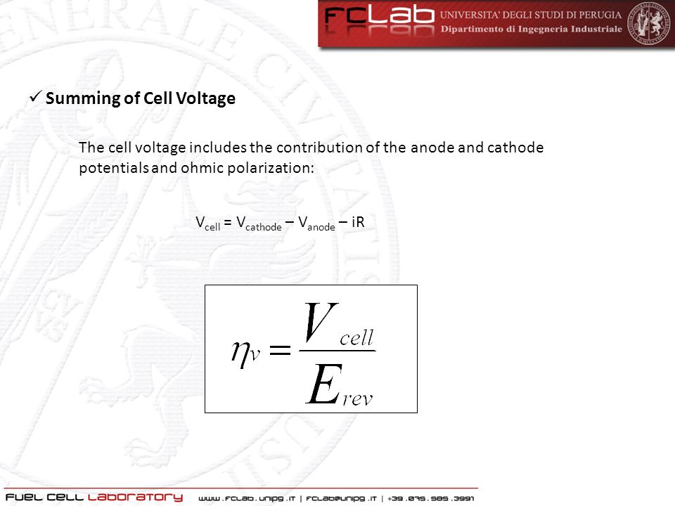 Summing of Cell Voltage