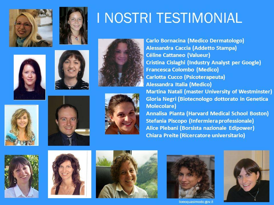 I NOSTRI TESTIMONIAL Carlo Bornacina (Medico Dermatologo)