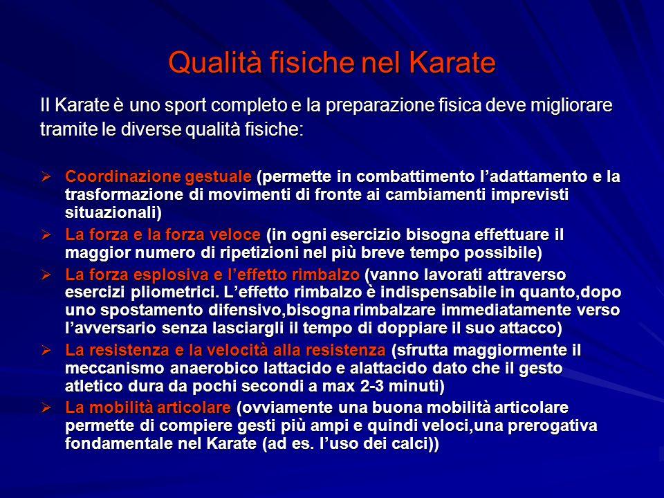 Qualità fisiche nel Karate
