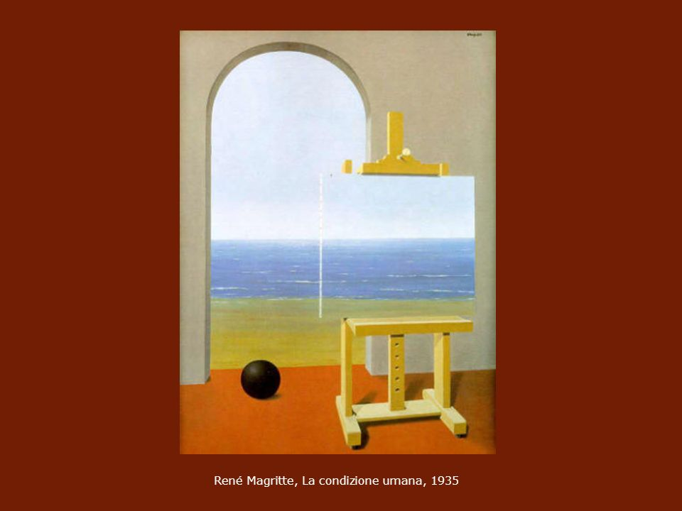 René Magritte, La condizione umana, 1935