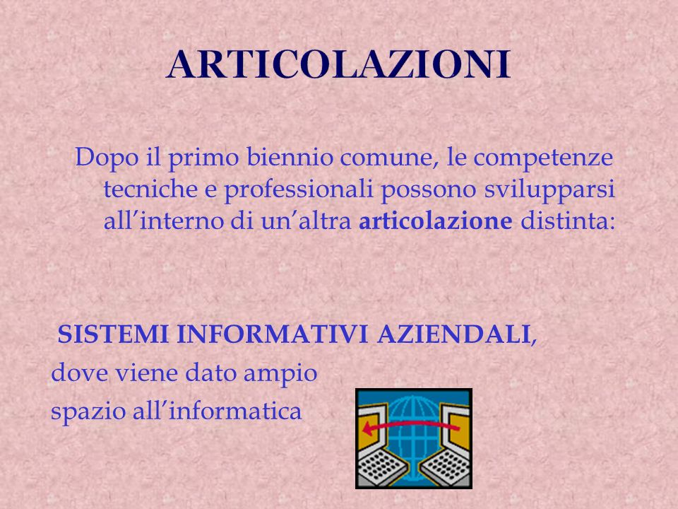 ARTICOLAZIONI