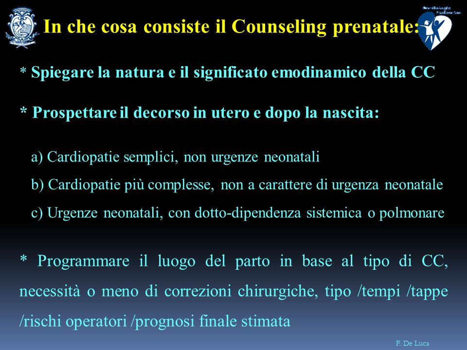 In che cosa consiste il Counseling prenatale: