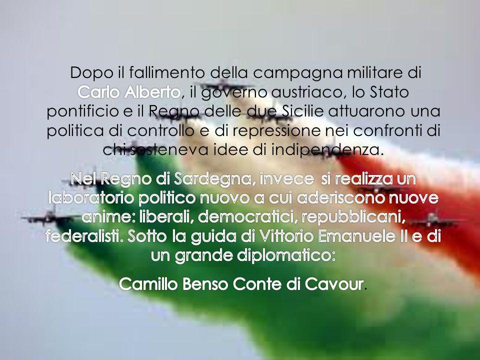 Camillo Benso Conte di Cavour.