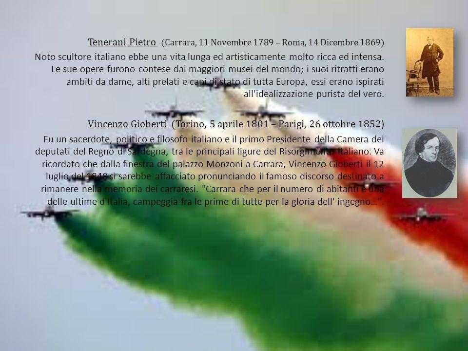 Tenerani Pietro (Carrara, 11 Novembre 1789 – Roma, 14 Dicembre 1869)