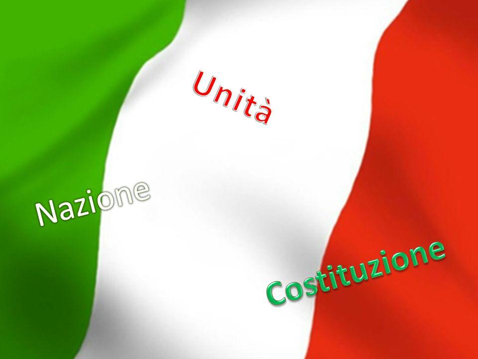 Unità Nazione Costituzione
