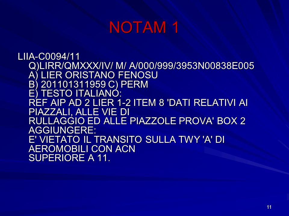 NOTAM 1