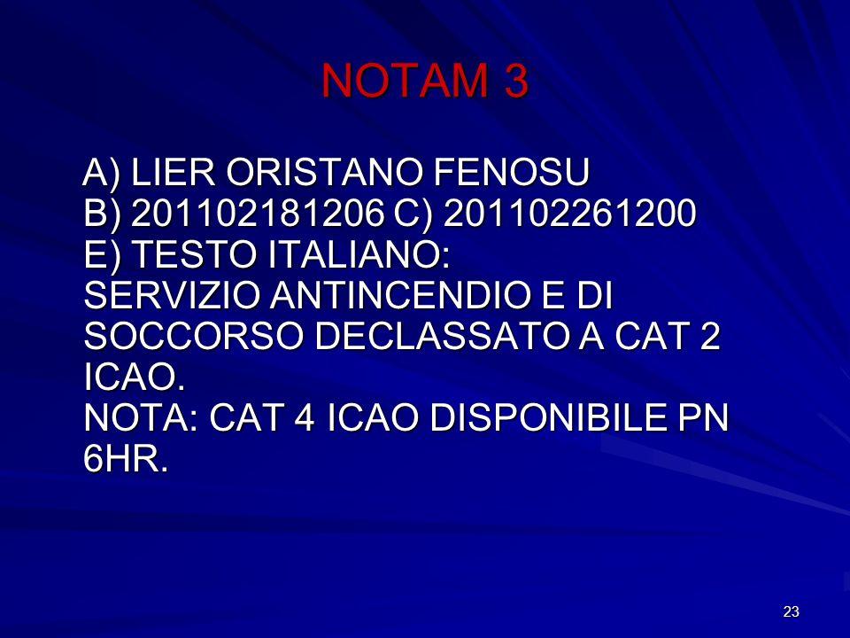 NOTAM 3