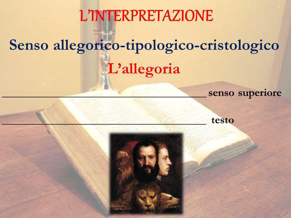Senso allegorico-tipologico-cristologico