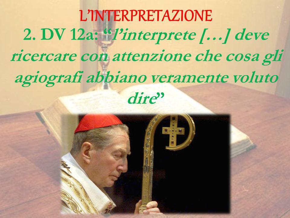 L'INTERPRETAZIONE 2.