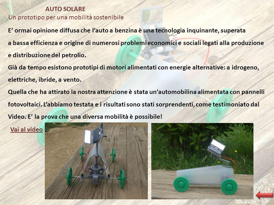 Un prototipo per una mobilità sostenibile