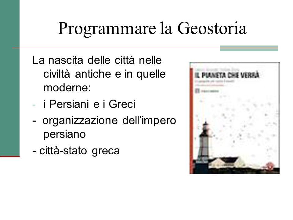 Programmare la Geostoria