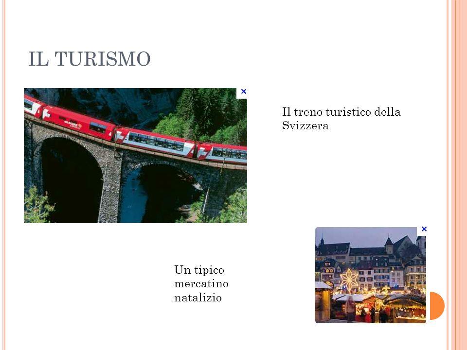 IL TURISMO Il treno turistico della Svizzera