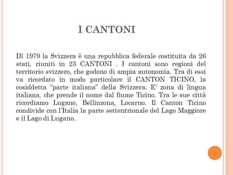 I CANTONI